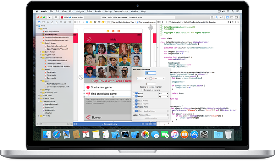 _What's new in Xcode_, image Apple