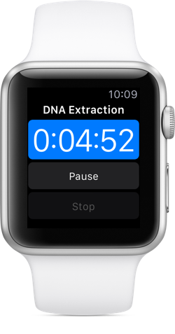 Hivebench on Apple Watch